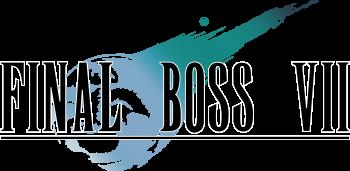 Final boss VII logo